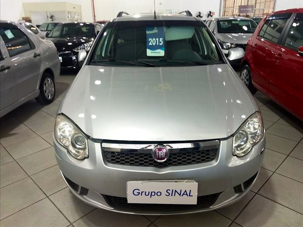 FIAT PALIO 1.4 MPI Attractive Weekend 8V 2014/2015