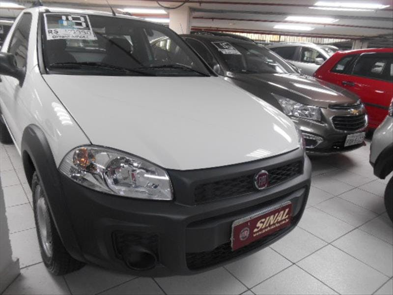 FIAT STRADA 1.4 MPI Hard Working CS 8V 2018/2018