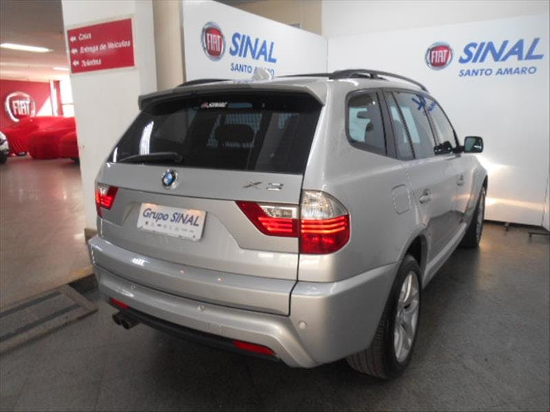 BMW X3 3.0 Sport 4X4 24V 2008/2009 - Foto 4
