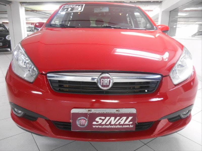 FIAT SIENA 1.4 MPI Attractive 8V 2012/2013