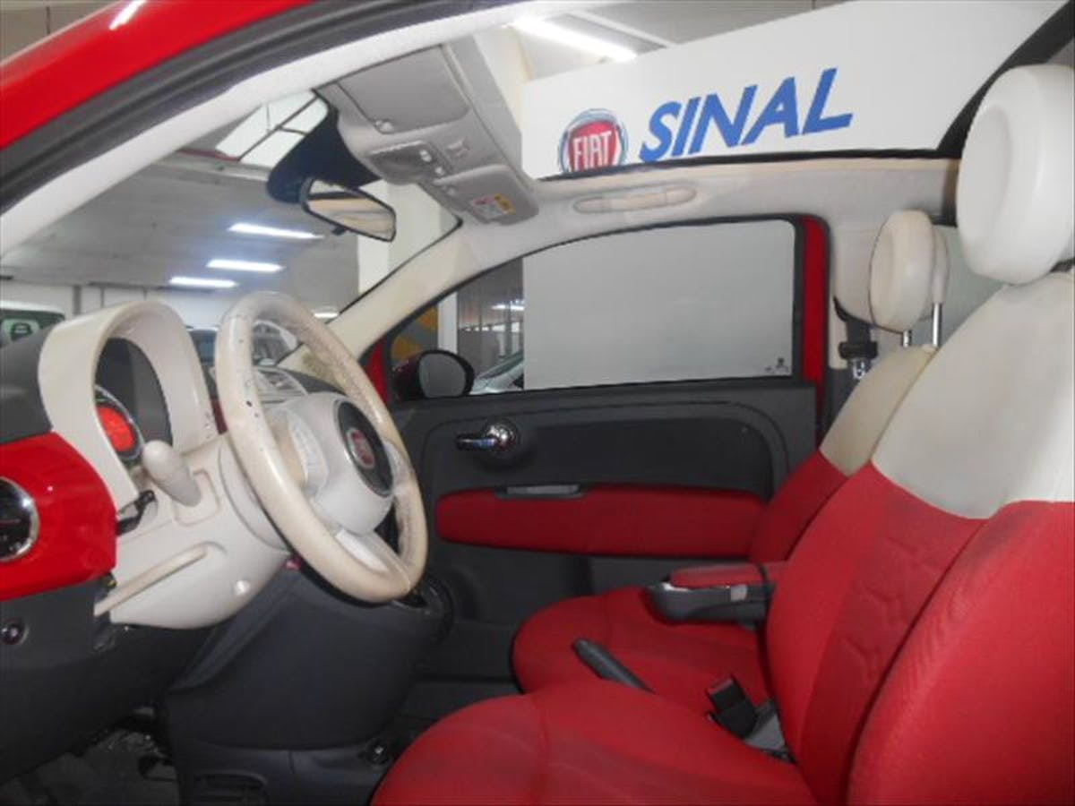 FIAT 500 1.4 Cabrio 16V 2014/2014 - Foto 12