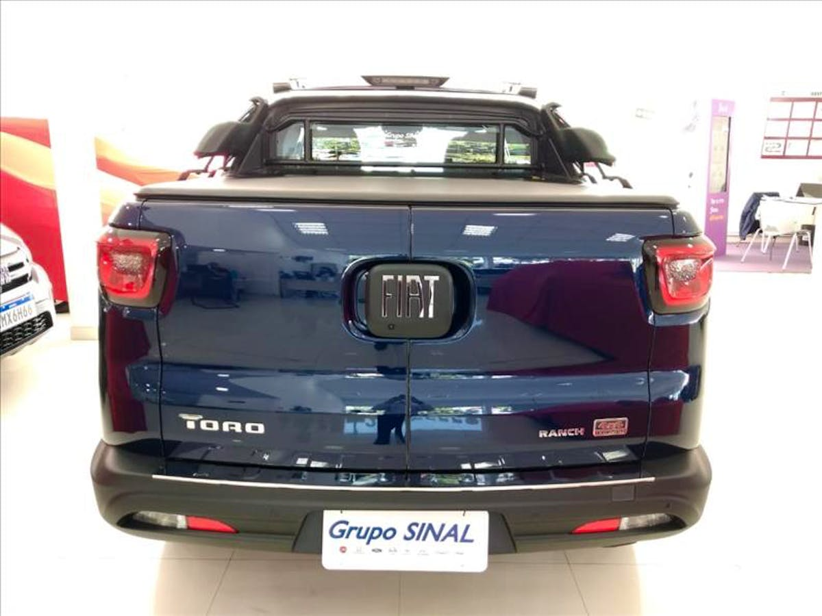 FIAT TORO 2.0 16V Turbo Ranch 4WD 2020/2020 - Foto 5