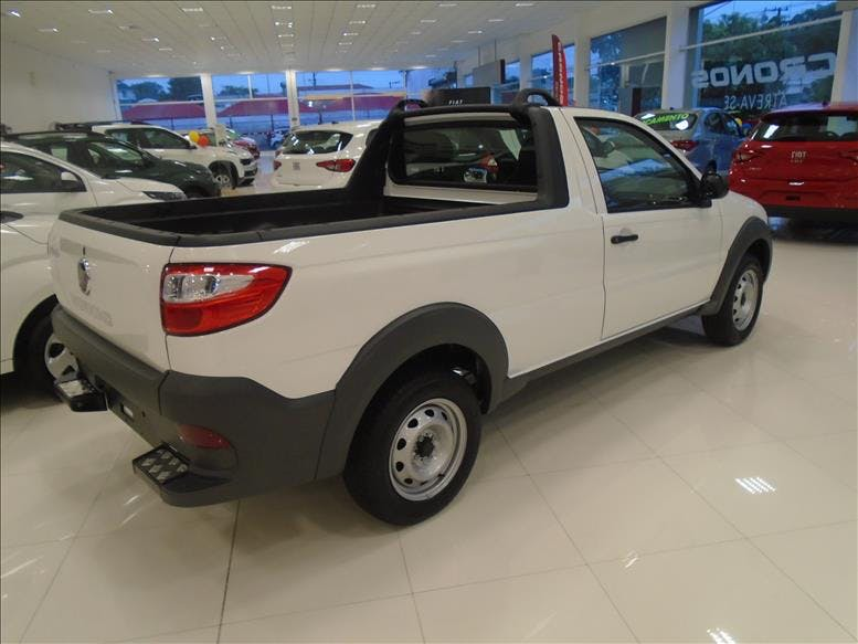 FIAT STRADA 1.4 MPI Hard Working CS 8V 2019/2019 - Foto 8