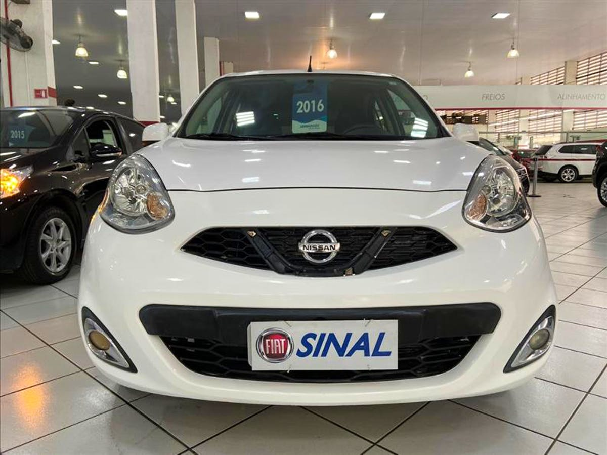 NISSAN MARCH 1.6 SL 16V 2016/2016