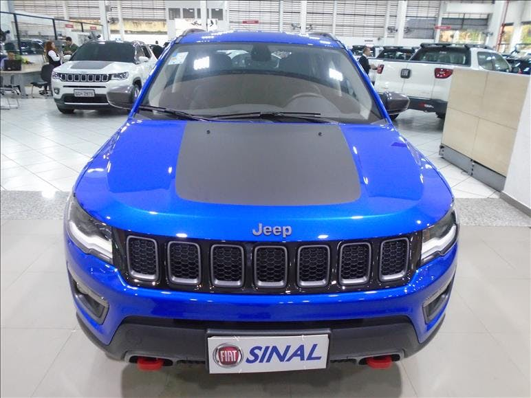JEEP COMPASS 2.0 16V Trailhawk 4X4 2017/2018 - Foto 1