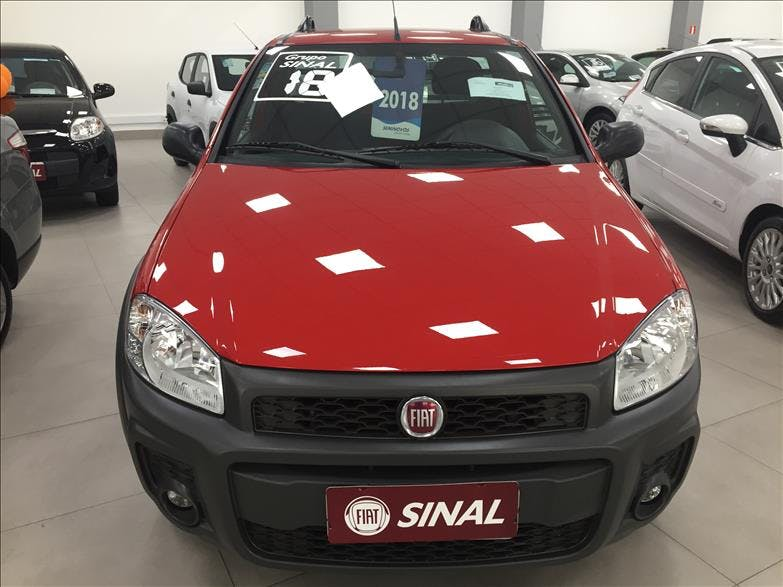 FIAT STRADA 1.4 MPI Hard Working CS 8V 2017/2018
