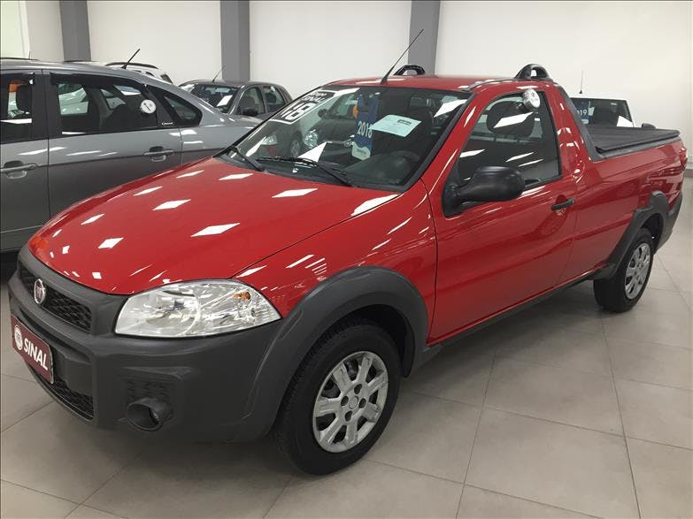 FIAT STRADA 1.4 MPI Hard Working CS 8V 2017/2018 - Foto 2