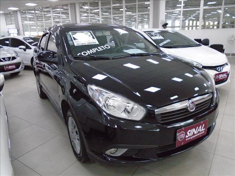 FIAT GRAND SIENA 1.4 MPI Attractive 8V 2012/2013 - Foto 1