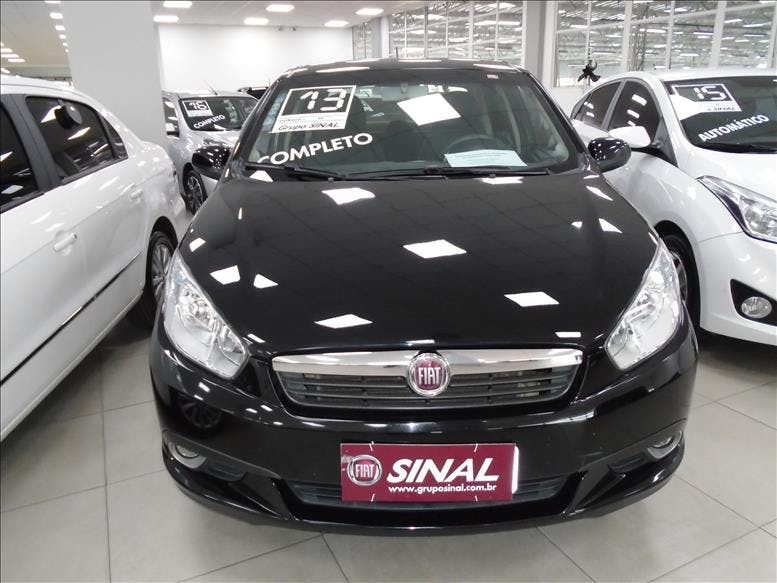 FIAT GRAND SIENA 1.4 MPI Attractive 8V 2012/2013 - Foto 2