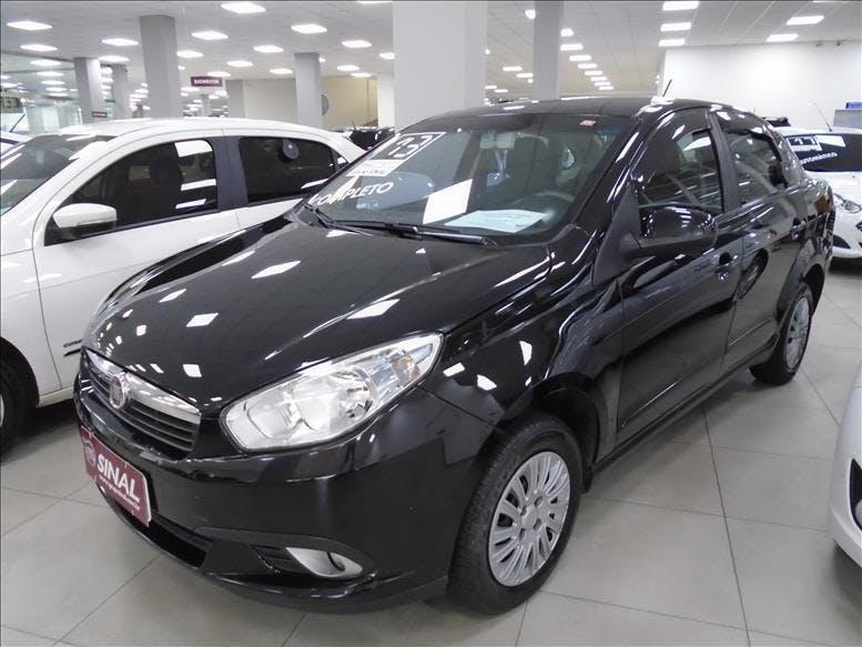 FIAT GRAND SIENA 1.4 MPI Attractive 8V 2012/2013 - Foto 3