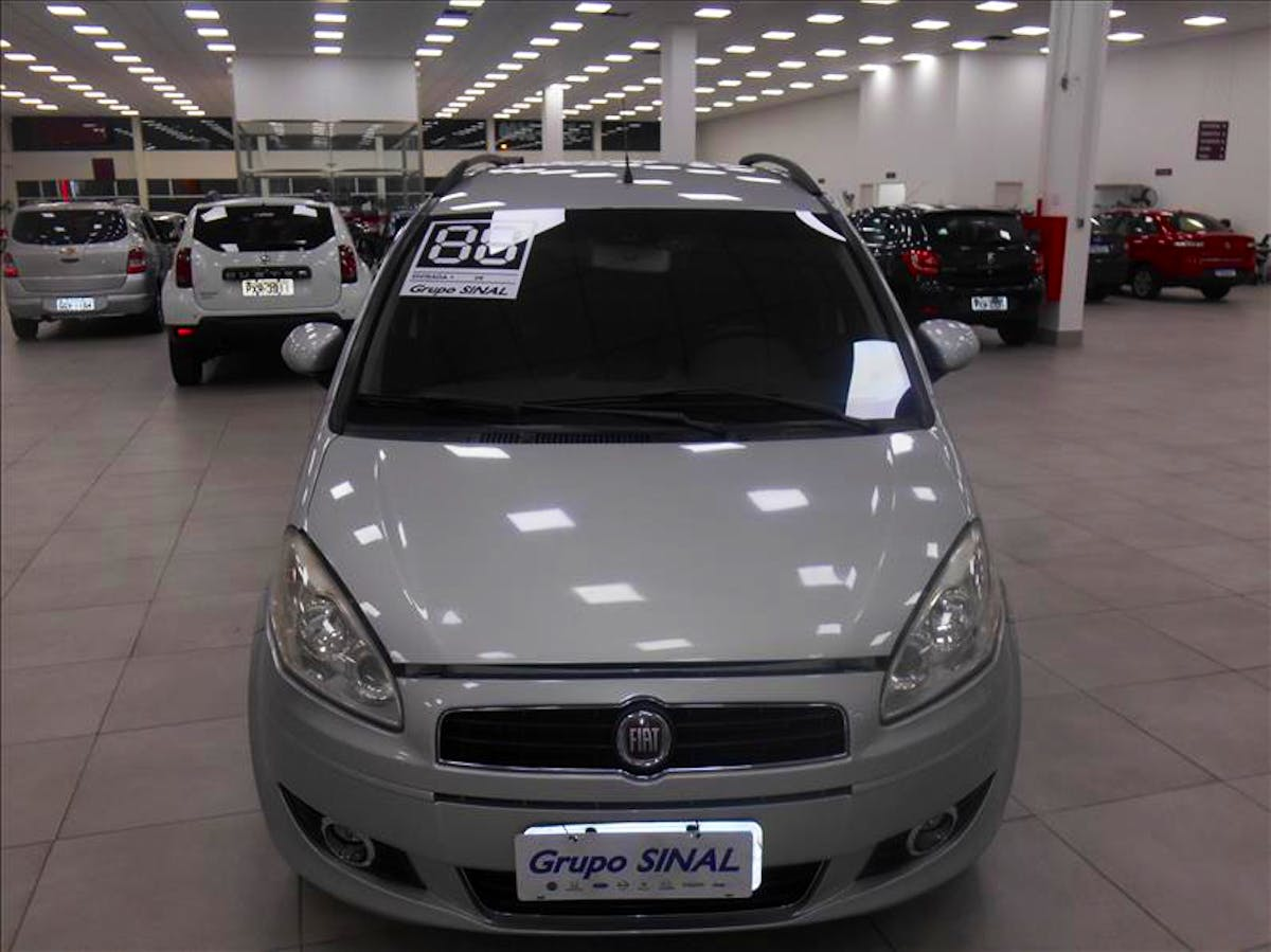 FIAT IDEA 1.4 MPI Attractive 8V 2011/2012