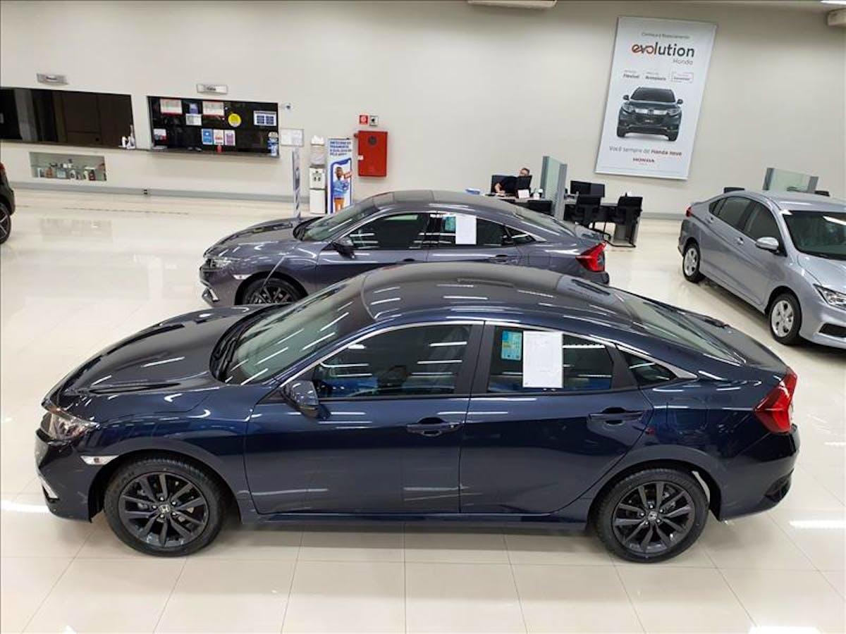 Honda CIVIC 2.0 16vone EX 2020/2020 - Foto 3