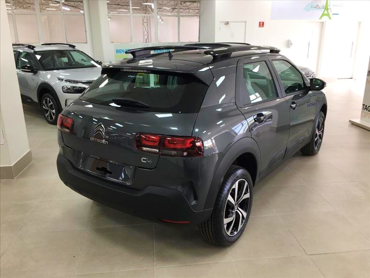 CITROËN C4 CACTUS 1.6 VTI 120 Feel Pack Eat6 2021/2021 - Foto 6