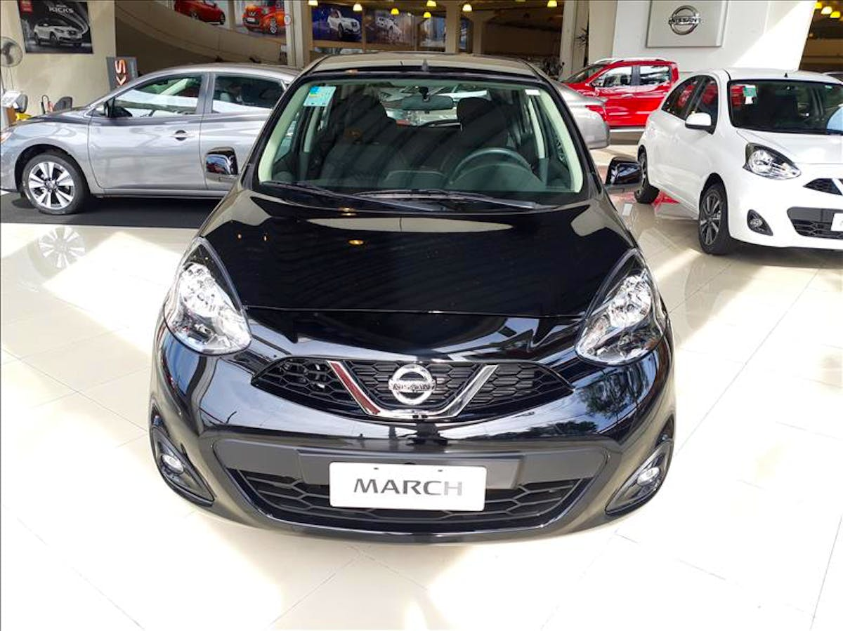 NISSAN MARCH 1.6 SL 16vstart 2020/2020