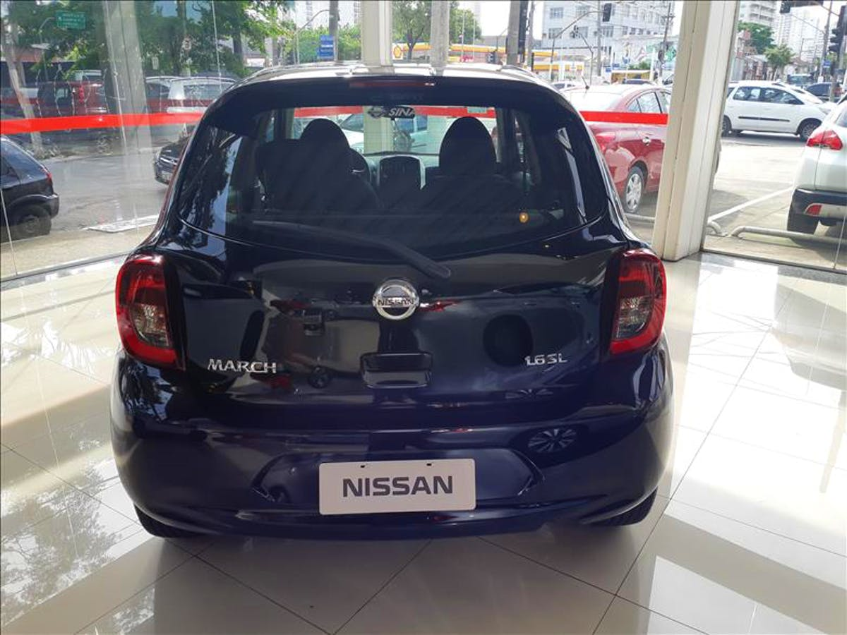 NISSAN MARCH 1.6 SL 16vstart 2020/2020 - Foto 2