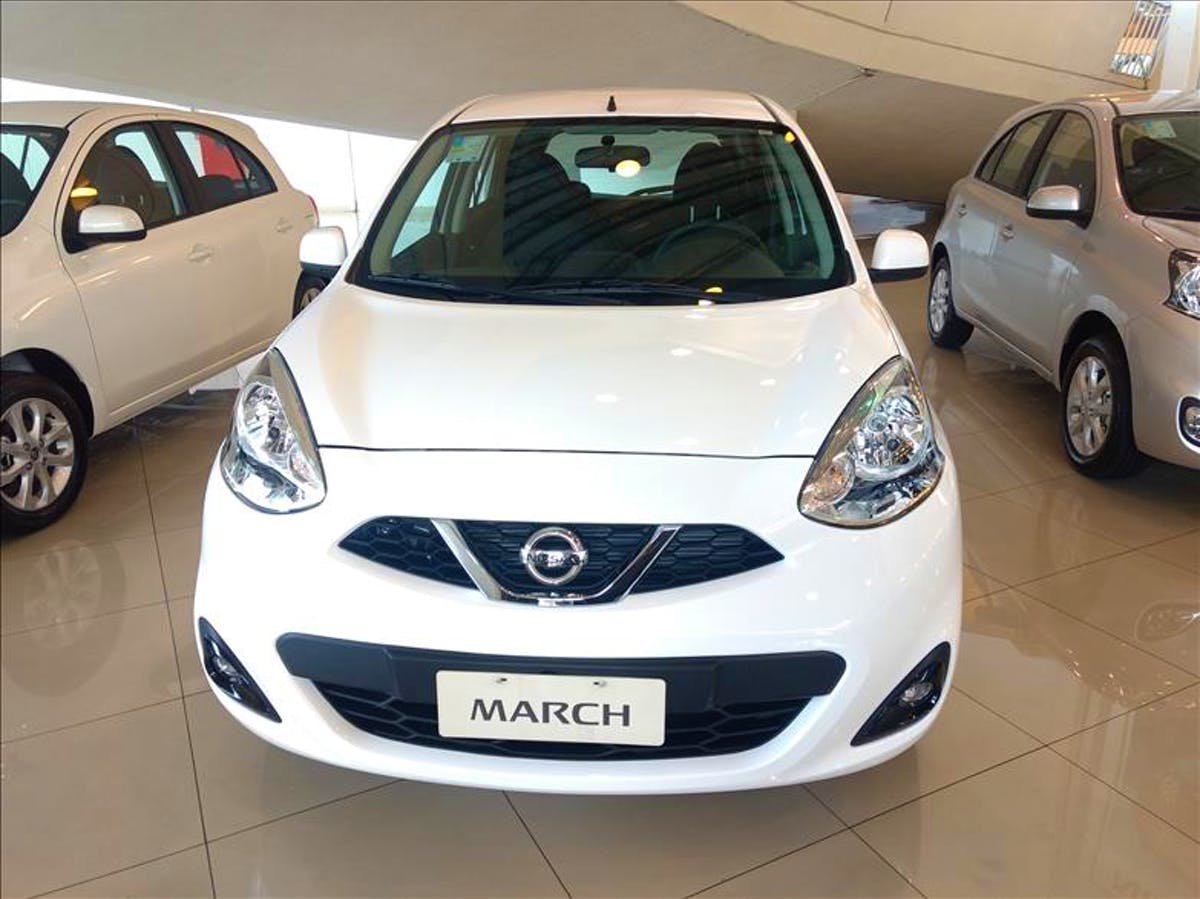 NISSAN MARCH 1.6 SV 16vstart 2019/2020