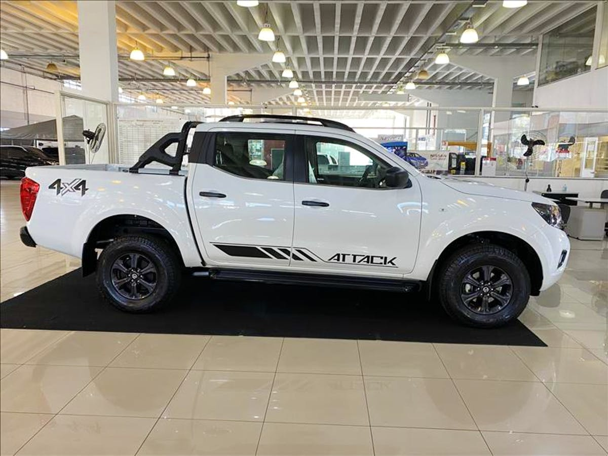 NISSAN FRONTIER 2.3 16V Turbo Attack CD 4X4 2019/2019 - Foto 3