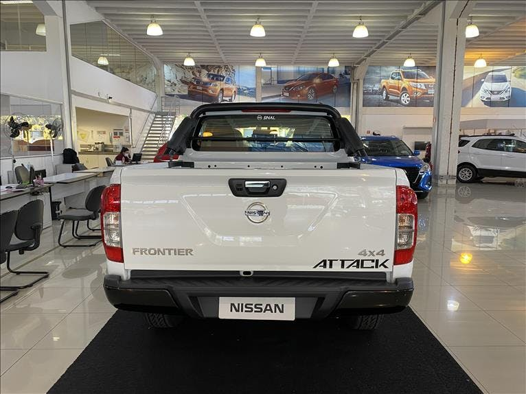 NISSAN FRONTIER 2.3 16V Turbo Attack CD 4X4 2018/2019 - Foto 4