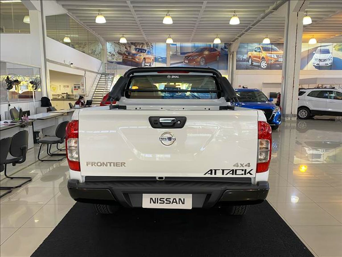 NISSAN FRONTIER 2.3 16V Turbo Attack CD 4X4 2019/2019 - Foto 4