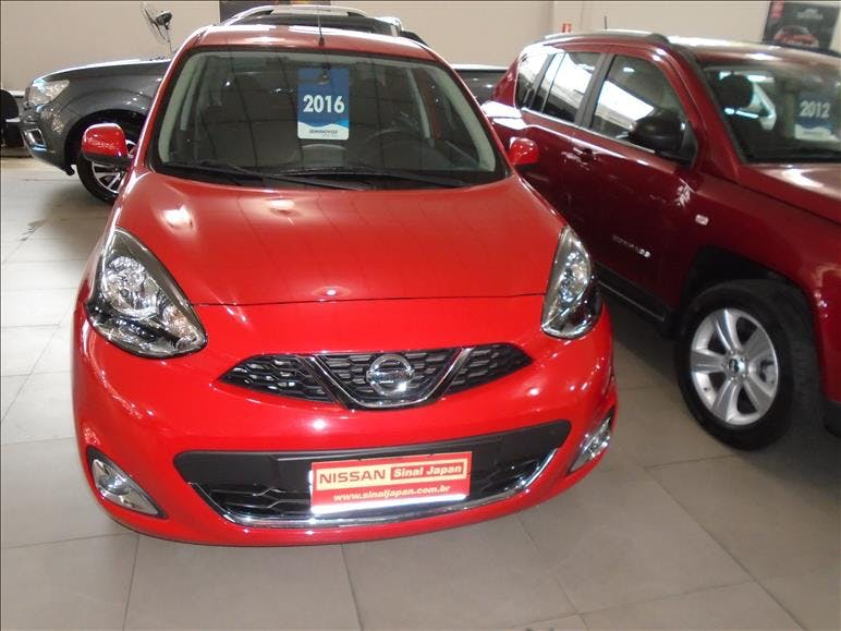 NISSAN MARCH 1.6 SL 16V 2015/2016