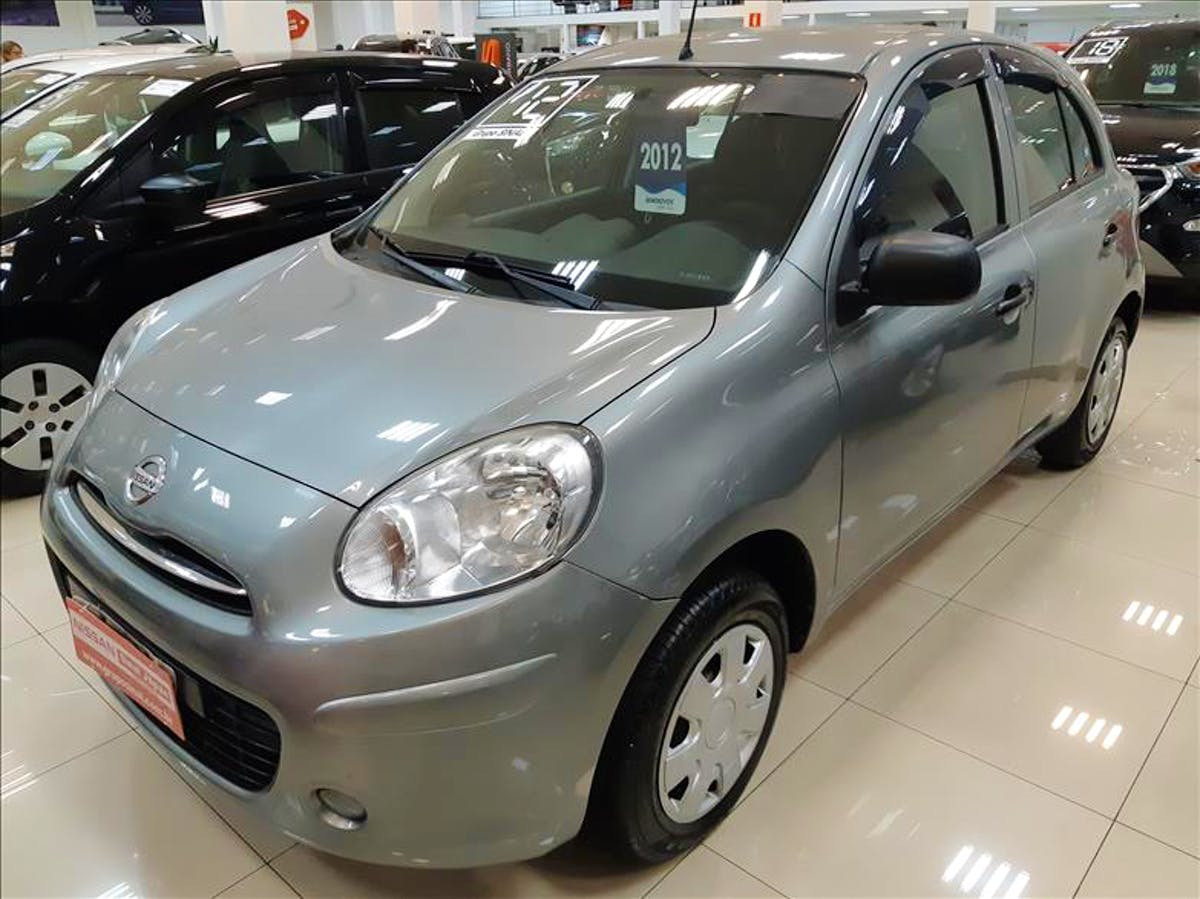 NISSAN MARCH 1.0 S 16V 2011/2012