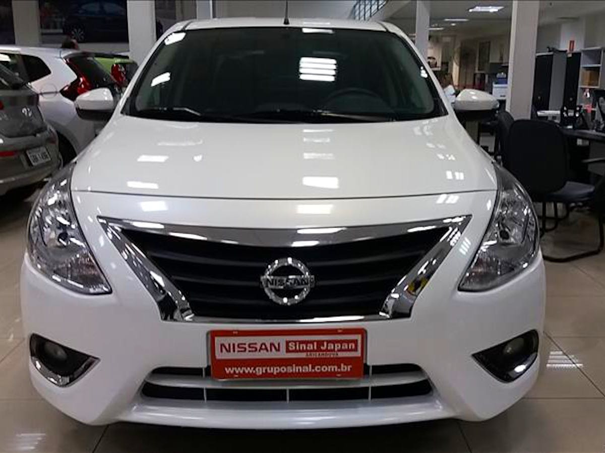 NISSAN VERSA 1.6 16V Unique 2017/2018