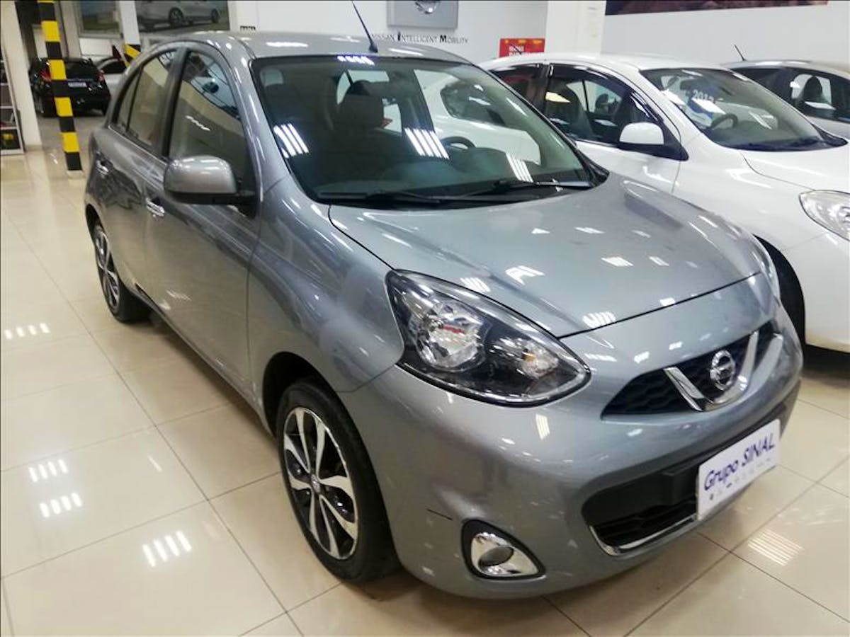 NISSAN MARCH 1.6 SL 16V 2014/2015 - Foto 3