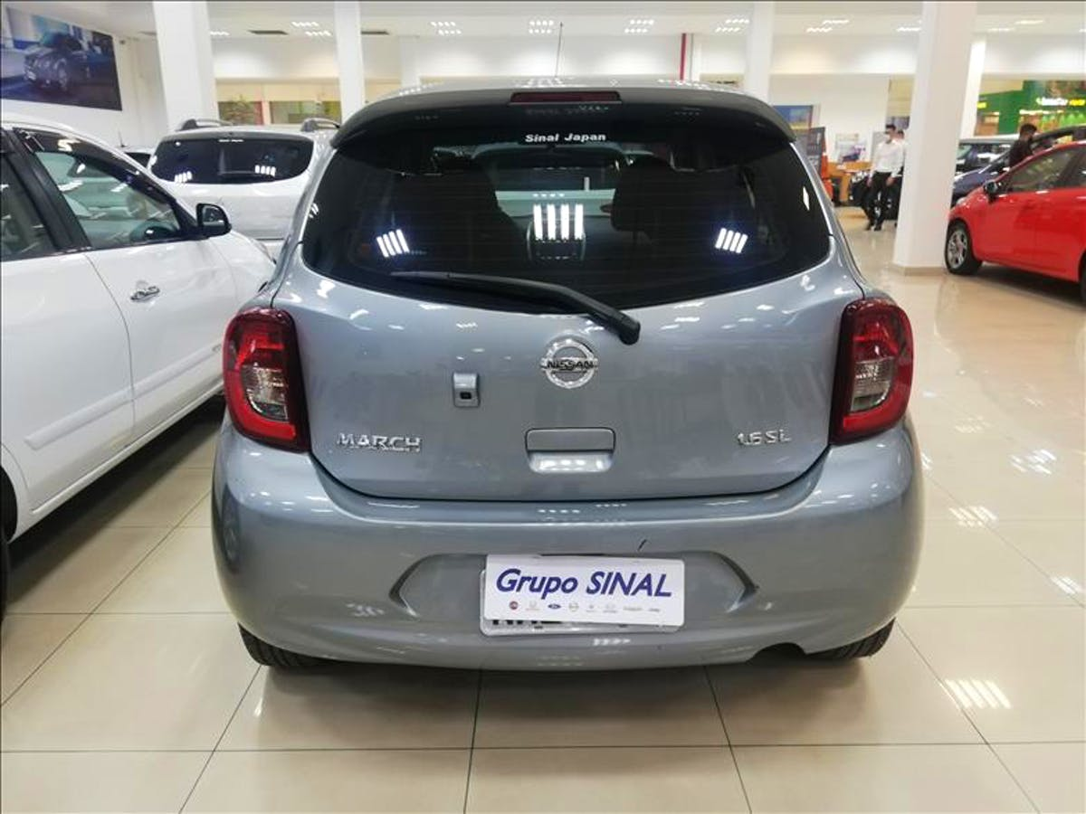 NISSAN MARCH 1.6 SL 16V 2014/2015 - Foto 4