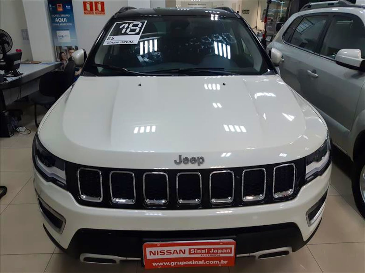 JEEP COMPASS 2.0 16V Limited 4X4 2018/2018