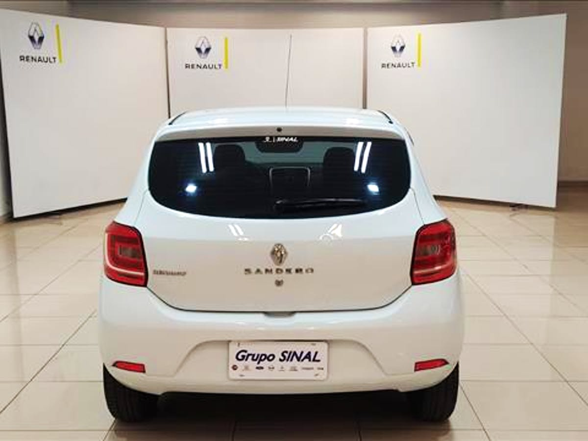 RENAULT SANDERO 1.0 12V SCE Authentique 2018/2019 - Foto 4
