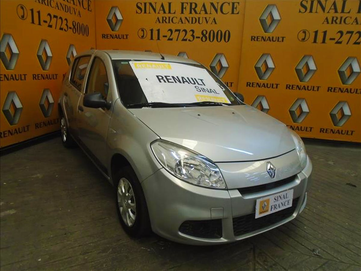 RENAULT SANDERO 1.0 Authentique 16V 2011/2012