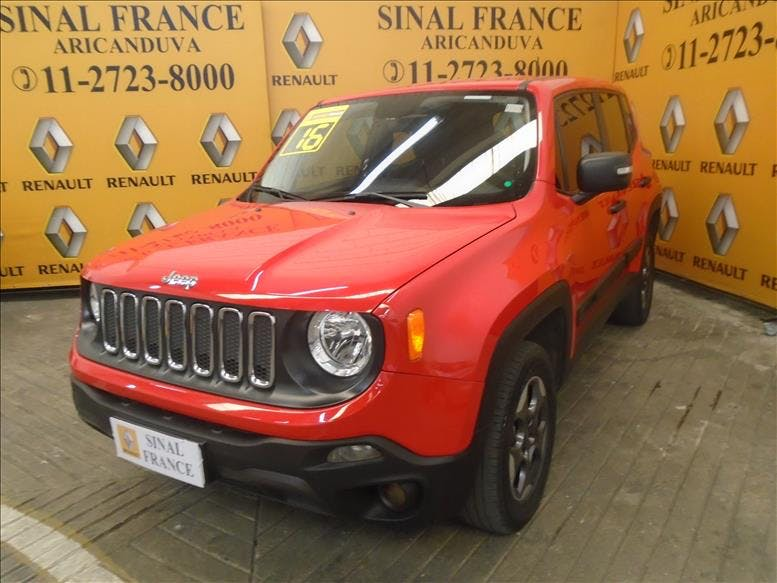 JEEP RENEGADE 2.0 16V Turbo Sport 4X4 2015/2016