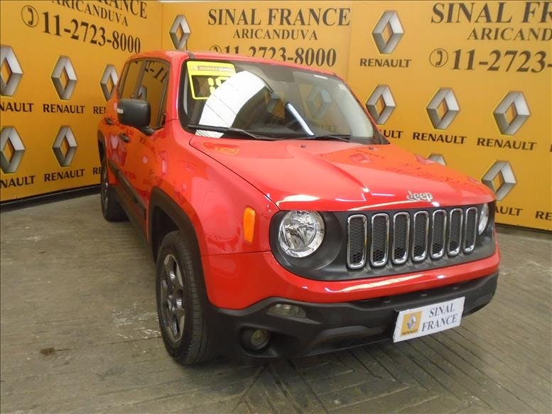 JEEP RENEGADE 2.0 16V Turbo Sport 4X4 2015/2016 - Foto 2
