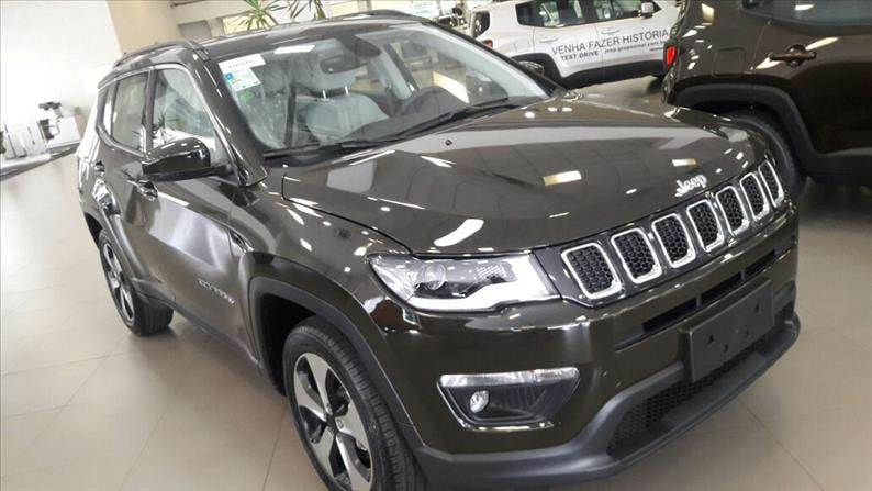 JEEP COMPASS 2.0 16V Longitude 2019/2019 - Foto 6