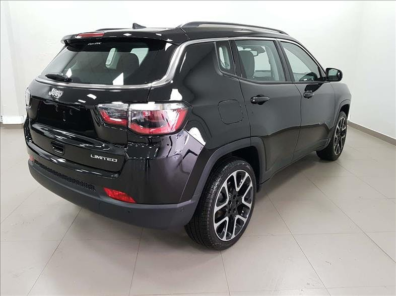 JEEP COMPASS 2.0 16V Limited 2018/2018 - Foto 8