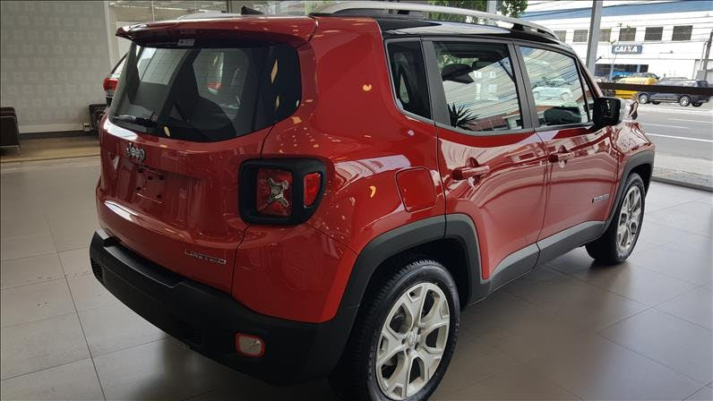 JEEP RENEGADE 1.8 16V Limited 2018/2018 - Foto 8