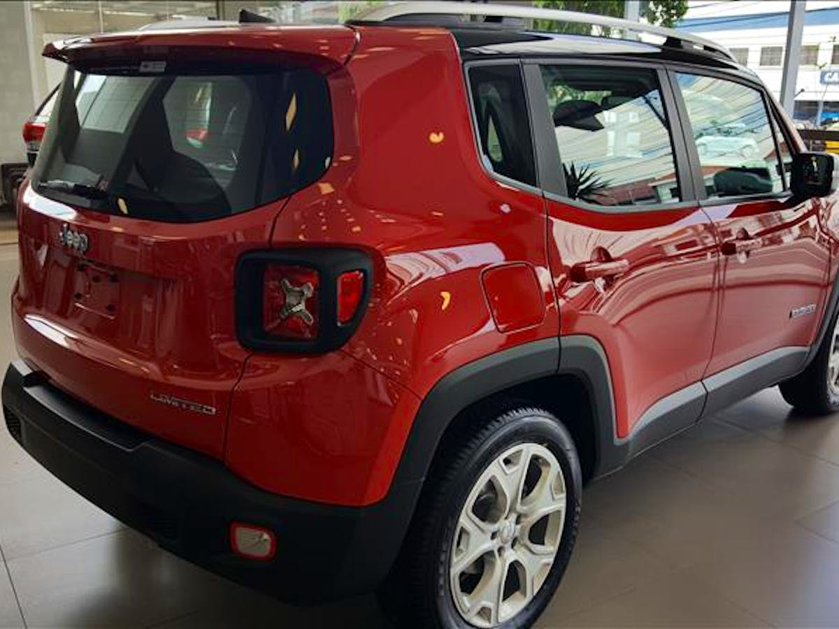JEEP RENEGADE 1.8 16V Limited 2019/2019 - Foto 8