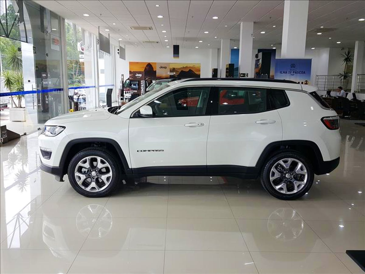 JEEP COMPASS 2.0 16V Limited 4X4 2019/2020 - Foto 3