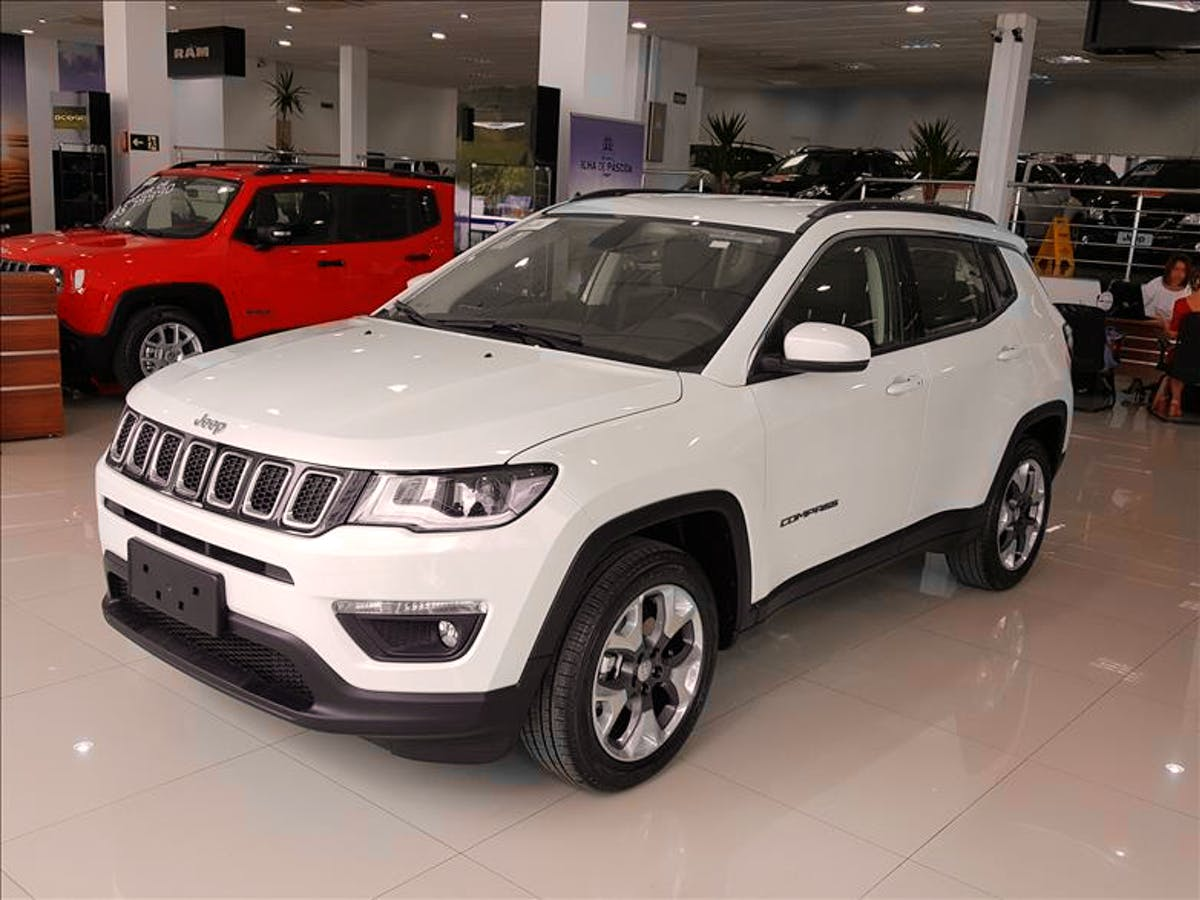 JEEP COMPASS 2.0 16V Limited 4X4 2019/2020 - Foto 5