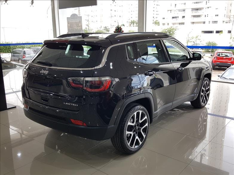JEEP COMPASS 2.0 16V Limited 2018/2019 - Foto 8