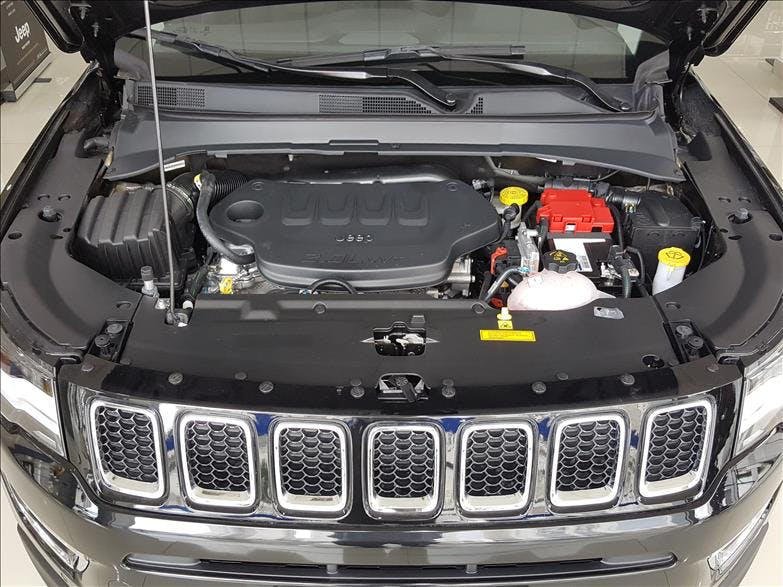 JEEP COMPASS 2.0 16V Limited 2018/2019 - Foto 10