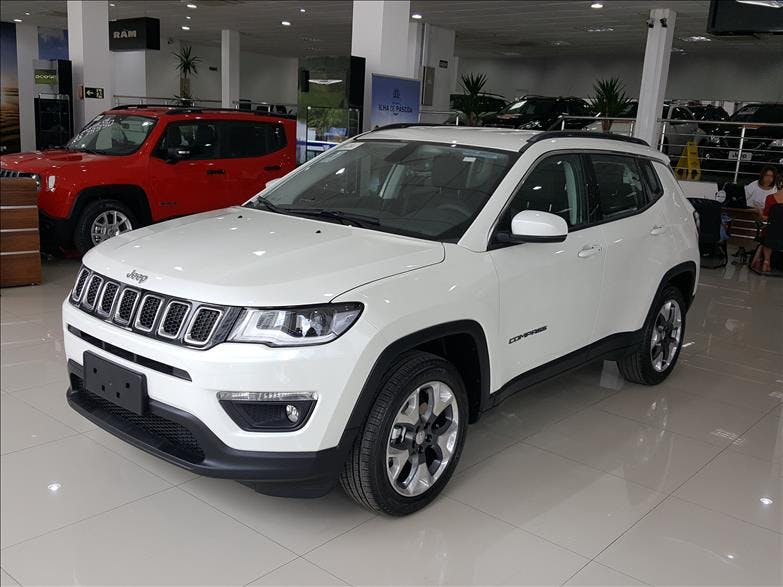 JEEP COMPASS 2.0 16V Longitude 2018/2019 - Foto 9