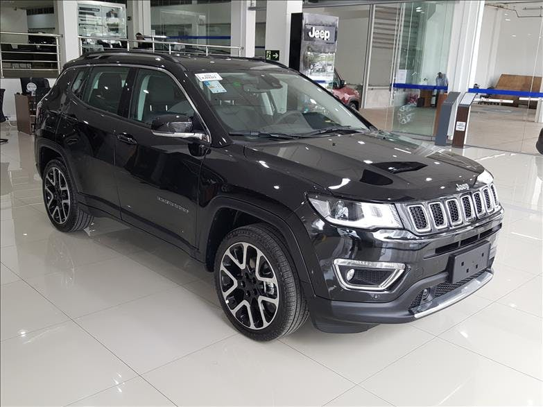 JEEP COMPASS 2.0 16V Limited 2018/2019 - Foto 6