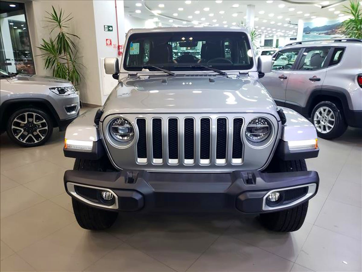 JEEP WRANGLER 2.0 Turbo Unlimited Overland 4X4 AT8 2019/2020 - Foto 1