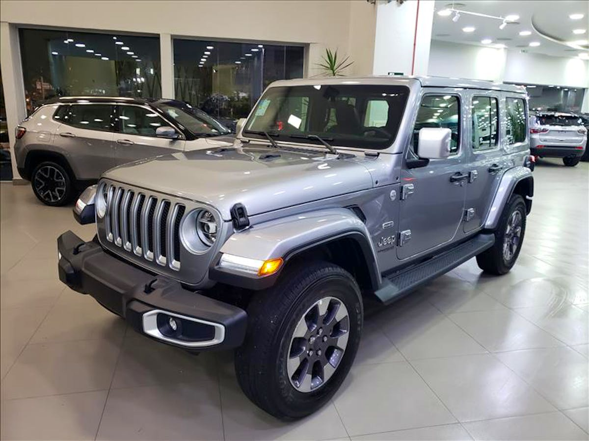JEEP WRANGLER 2.0 Turbo Unlimited Overland 4X4 AT8 2019/2020 - Foto 10