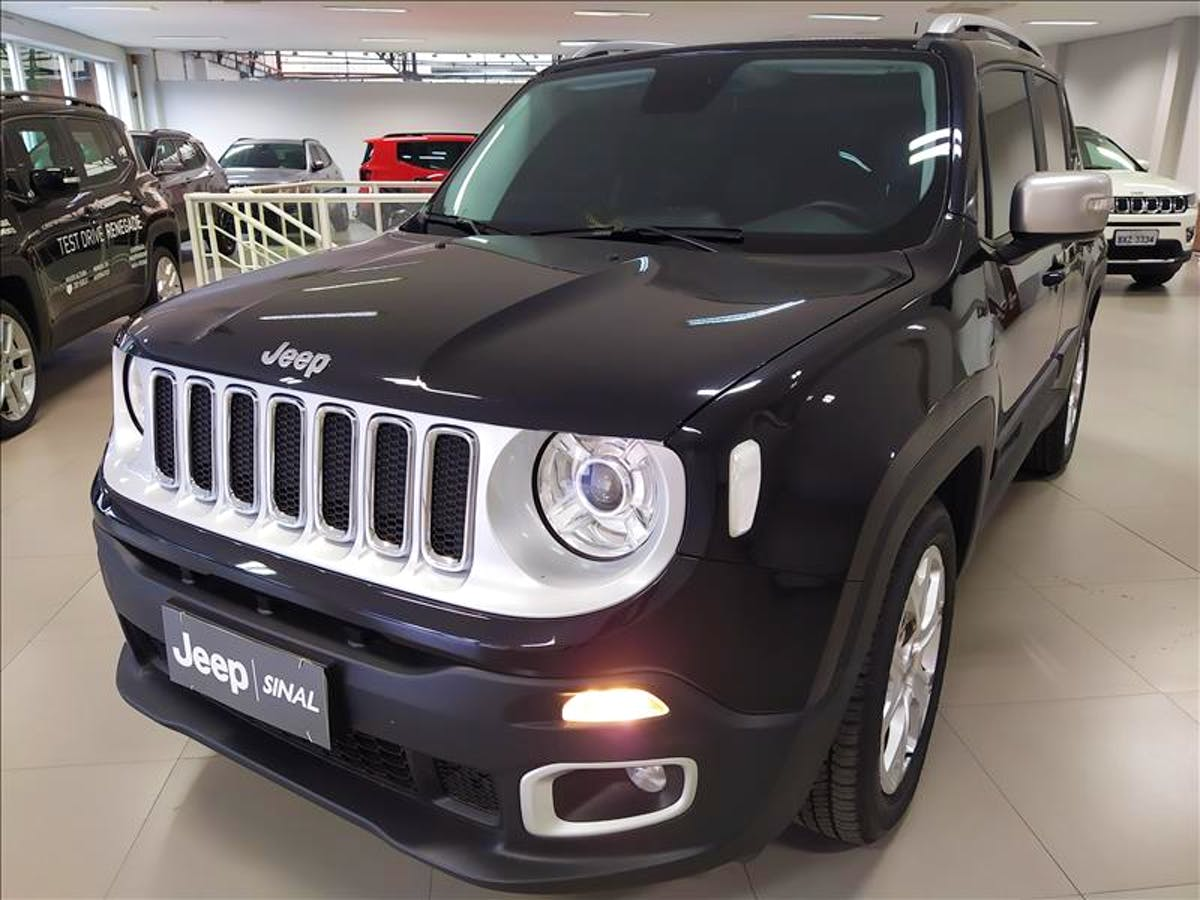 JEEP RENEGADE 1.8 16V Limited 2018/2018 - Foto 2