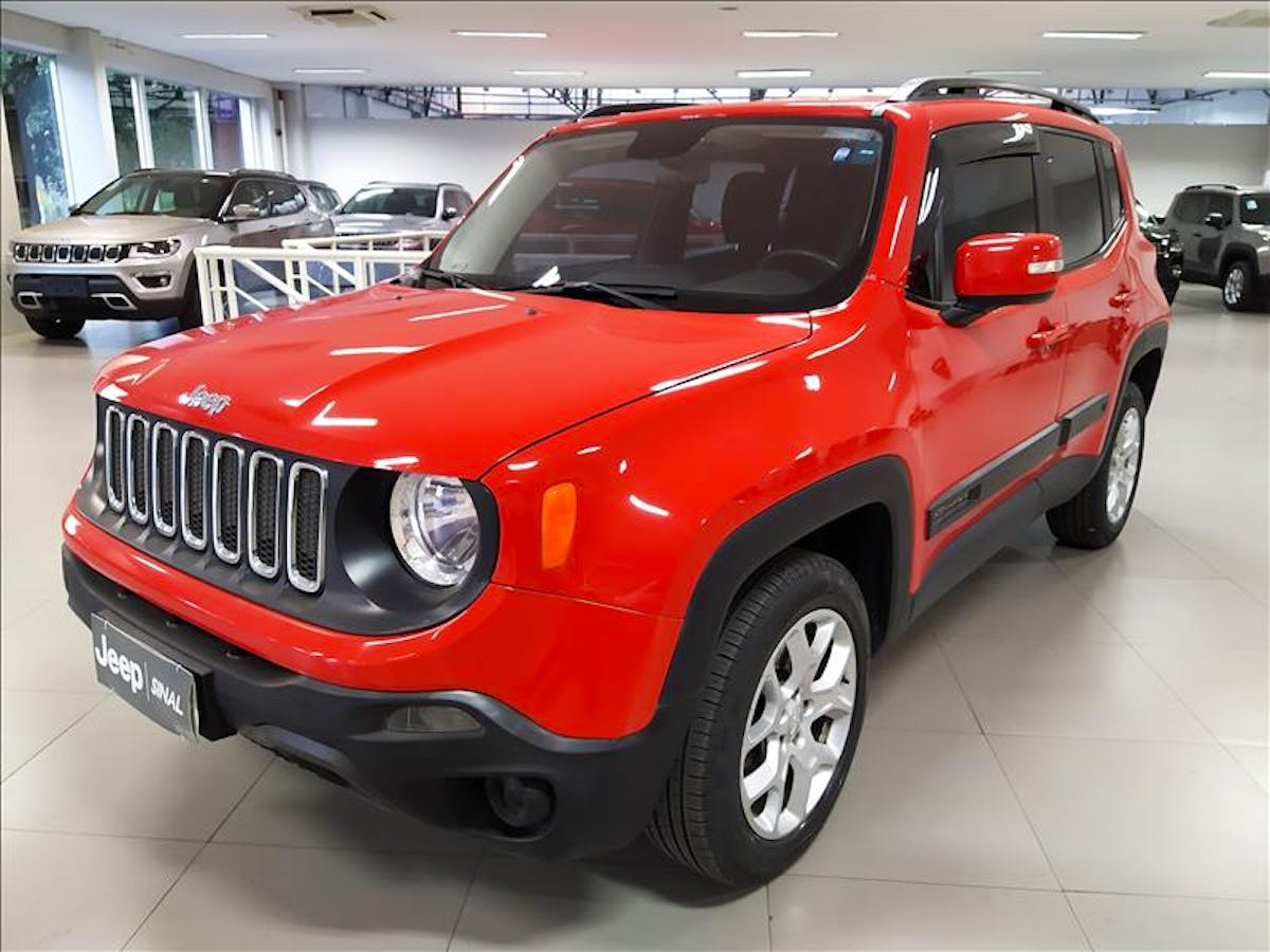 JEEP RENEGADE 2.0 16V Turbo Longitude 4X4 2016/2016 - Foto 2