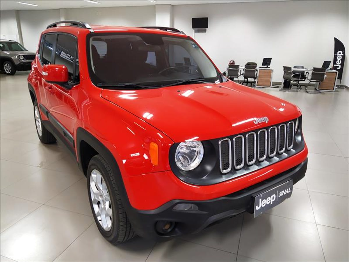 JEEP RENEGADE 2.0 16V Turbo Longitude 4X4 2016/2016 - Foto 3