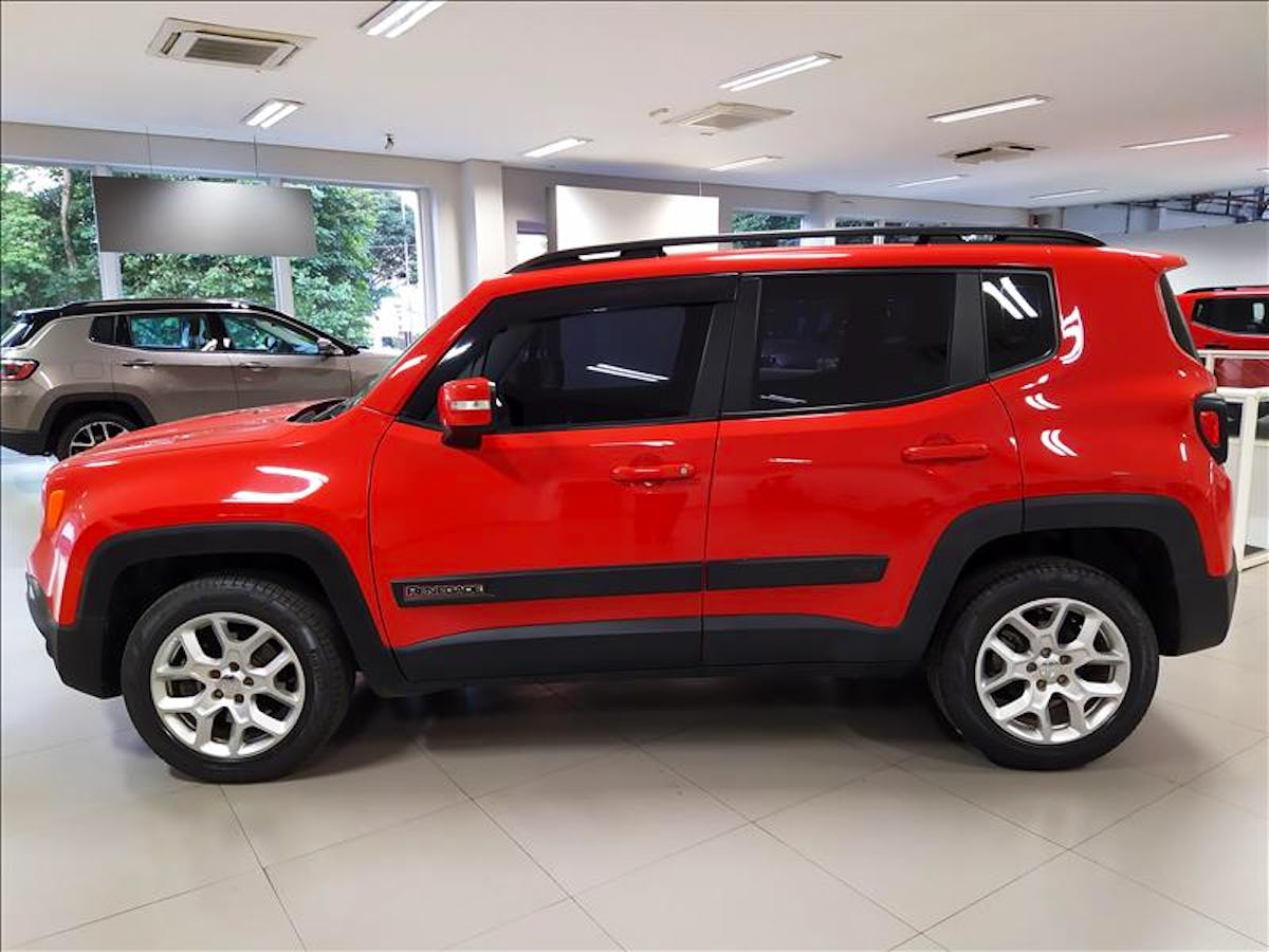 JEEP RENEGADE 2.0 16V Turbo Longitude 4X4 2016/2016 - Foto 4