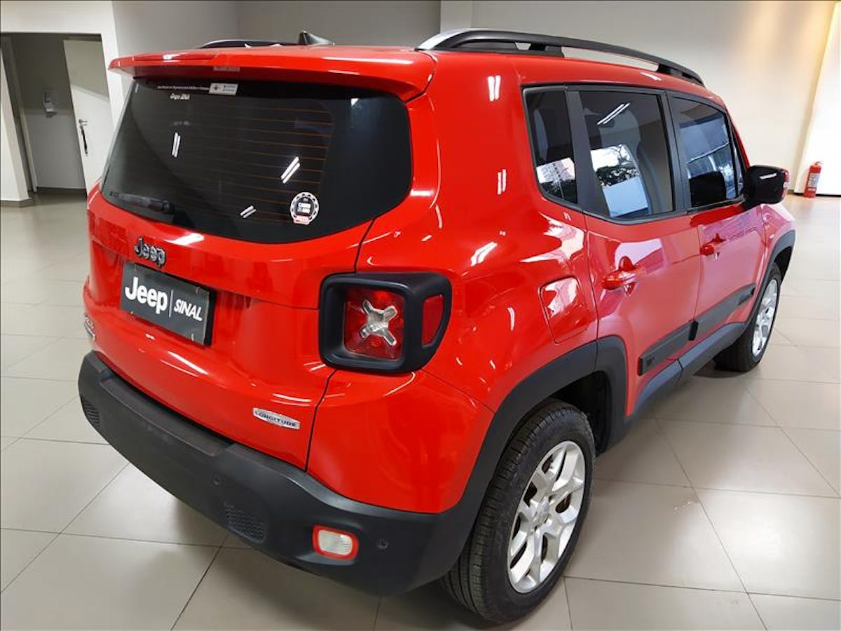 JEEP RENEGADE 2.0 16V Turbo Longitude 4X4 2016/2016 - Foto 7